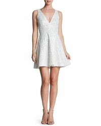 Dress the Population Carrie Sequin Fit Flare Minidress