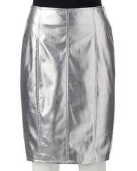 JLO by Jennifer Lopez Jennifer Lopez Metallic Pencil Skirt