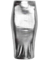 H&M Shimmery Pencil Skirt