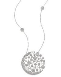 Adriana Orsini Dazzle Crystal Long Pendant Necklace