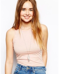Asos Angel Wing Pendant Necklace