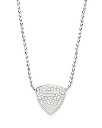 Bony Levy Aurora Diamond Pave Triangle Necklace