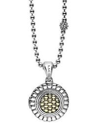 Lagos Beloved Locket Pendant Necklace