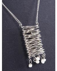 Choies Celebona Necklace With Chunky Twist Pendant