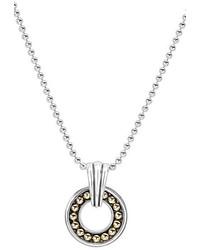 Lagos Circle Pendant Necklace
