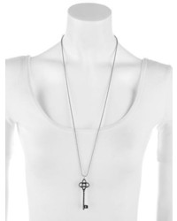 Tiffany co crown key pendant necklace where to buy how to wear crown key pendant necklace aloadofball Image collections