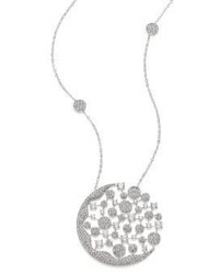 Adriana Orsini Dazzle Crystal Long Pendant Necklace