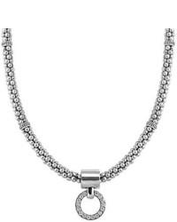 Enso diamond pendant necklace medium 751116