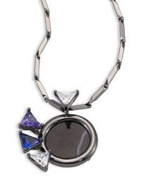 Eddie Borgo Europa Mini Pendant Necklace