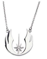 Fine Jewelry Star Wars Stainless Steel Jedi Order Pendant Necklace