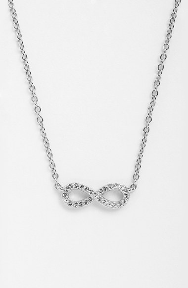 Nadri Infinity Symbol Pendant Necklace Where To Buy How To Wear
