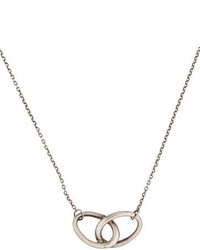 Tiffany & Co. Interlocking Hoop Pendant Necklace