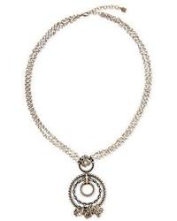 Dannijo Kleo Crystal Pendant Necklace
