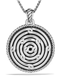 David Yurman Labyrinth Large Disc Pendant