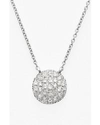 Dana Rebecca Designs Lauren Joy Diamond Disc Pendant Necklace