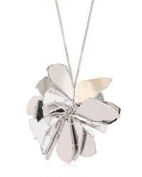 Maison Margiela Perspex Flower Pendant Necklace