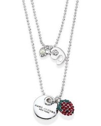 Marc Jacobs Layered Coin Pendant Necklace