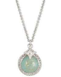 Armenta New World Doublet Pendant Necklace With Diamonds