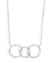 Melinda Maria Open Pendant Necklace