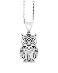 Lagos Rare Wonders Owl Long Talisman Necklace