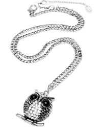 Amrita Singh Small Owl Pendant Necklace