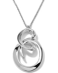 Ippolita Sterling Silver Swirl Pendant Necklace