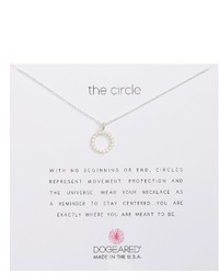 Dogeared The Circile Pendant Necklace
