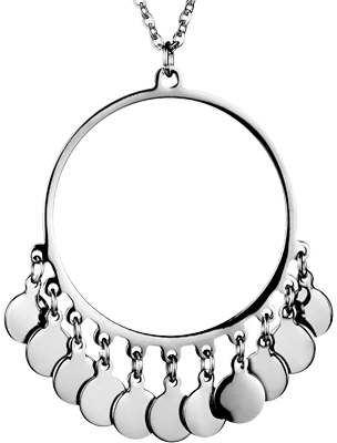 West Coast Jewelry Wcj N1129 Silver Stainless Steel Pendants