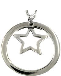 West Coast Jewelry Wcj N1134 Silver Stainless Steel Pendants