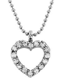 West Coast Jewelry Wcj P9140 Silver Stainless Steelcubic Zirconia Pendants