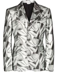 Comme Des Garcons Homme Plus Comme Des Garons Homme Plus Abstract Printed Blazer Jacket