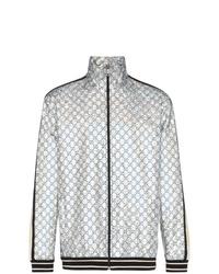 Gucci Laminated Sparkling Gg Jacket