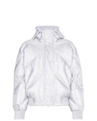 Fluoro metallic puffer jacket medium 7953681