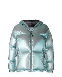 Prada Metallic Puffer Jacket