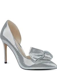 Women s Silver Pumps by Nine West   Women s Fashion   Lookastic.com 91803105dd