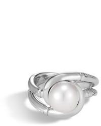 John Hardy Bamboo Pearl Ring