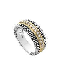 Lagos Diamonds Caviar Ring