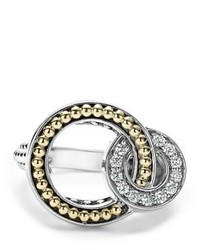 Lagos Enso Diamond Ring