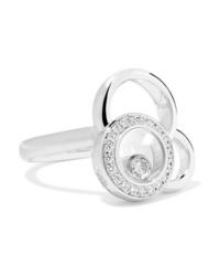 Chopard Happy Dreams 18 Karat White Gold Diamond Ring