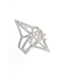 Nadri Holy Night Openwork Ring