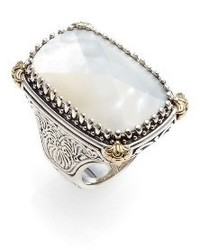 Konstantino Selene Mother Of Pearl Ring