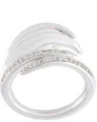 Shaun Leane White Feather Diamond Ring