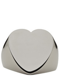 Stella McCartney Silver Heart Ring