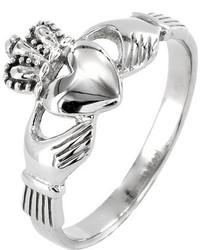 West Coast Jewelry Wcj Ss352 Silver Stainless Steel Rings