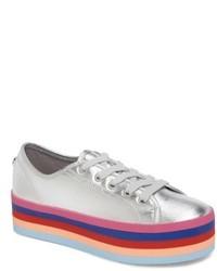 15d427da67b Women s Silver Low Top Sneakers by Steve Madden