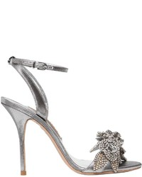 Sophia Webster 100mm Lilico Crystal Metallic Sandal