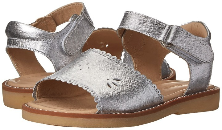 Elephantito Classic Sandal W Scallop Girls Shoes