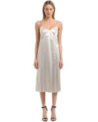 Calvin Klein Collection Fluid Satin Dress