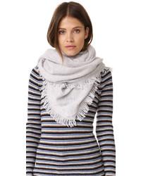 Cashmere triangle fringe scarf medium 740720