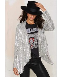 Factory All That Sparkles Sequin Jacket